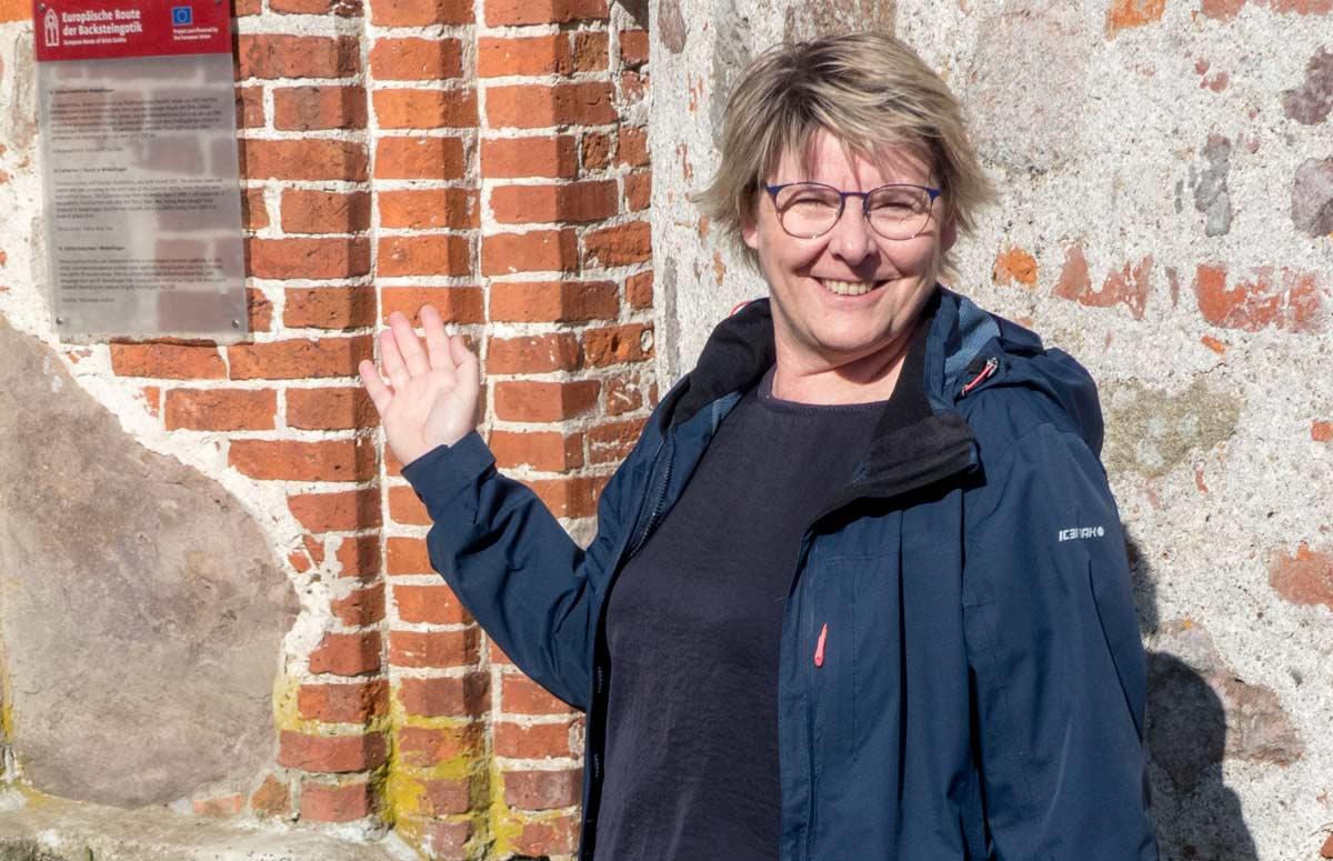 Reiseleiterin Silke Wilcke